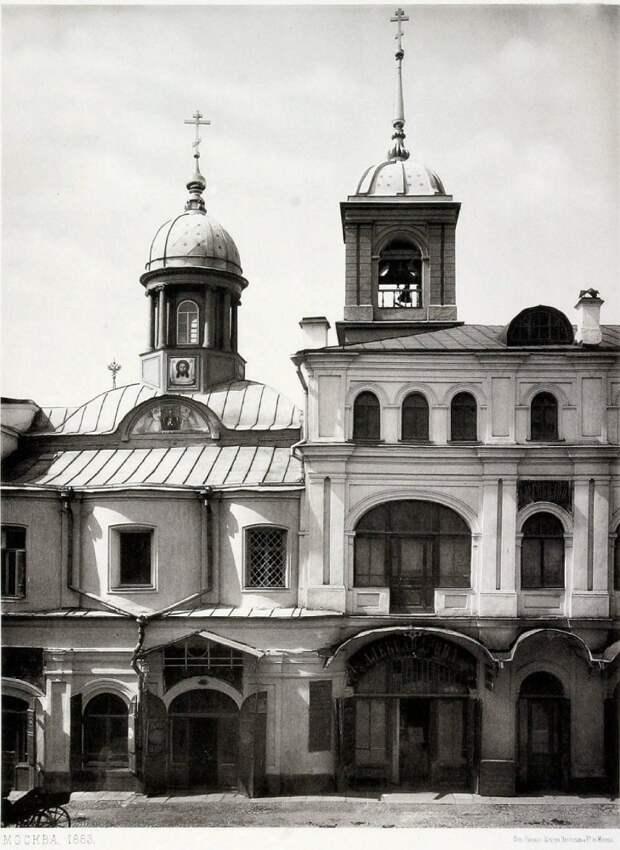 Реконструкция храма Ильи Пророка, или памяти Теплых рядов