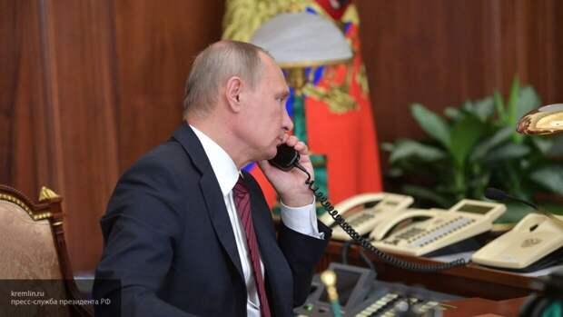 Вучич рассказал Путину о переговорах по Косово в Вашингтоне и Брюсселе
