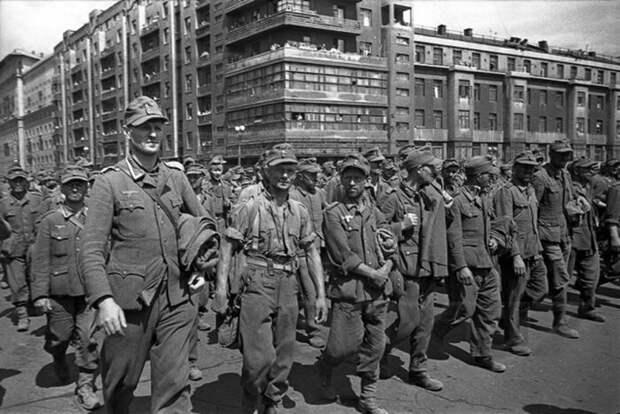 Как проходила организация марша и кто «принимал участие» в параде побеждённых война, история, факты