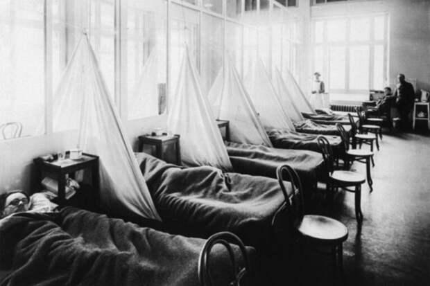 Лепрозорий начала 20 века