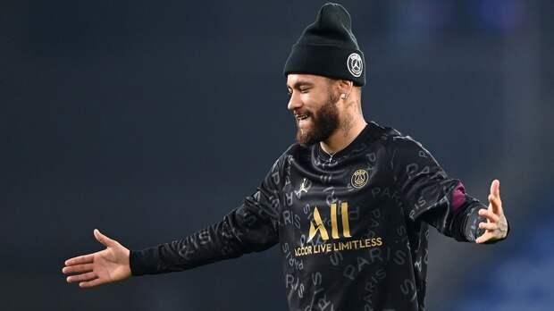 Неймар — о новом контракте с «ПСЖ»: «Чувствую себя прекрасно в команде и доволен этим сезоном»