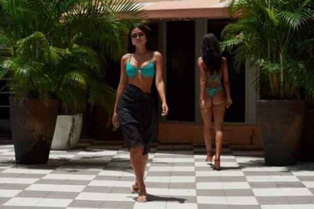 Шоу пляжной моды в Майами