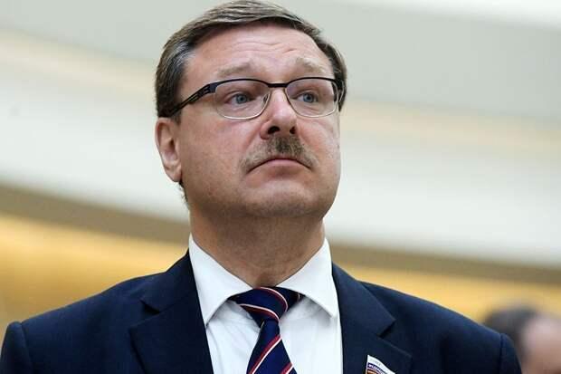 Косачев: Украина не может предложить Западу ничего, кроме русофобии