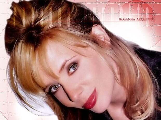 Звезда криминальных комедий 90-ых с незабываемой внешностью Розанна Аркетт.