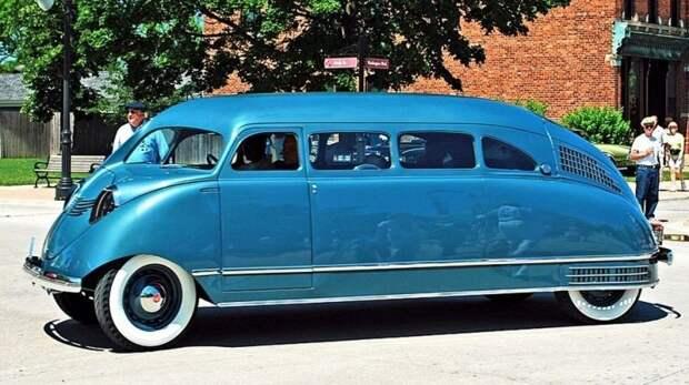 Одна из самых невероятных легковушек всех времен — уникальный вагончик Scarab образца 1936 года авто, автодизайн, автомобили, дизайн, интересные автомобили, минивэн, ретро авто