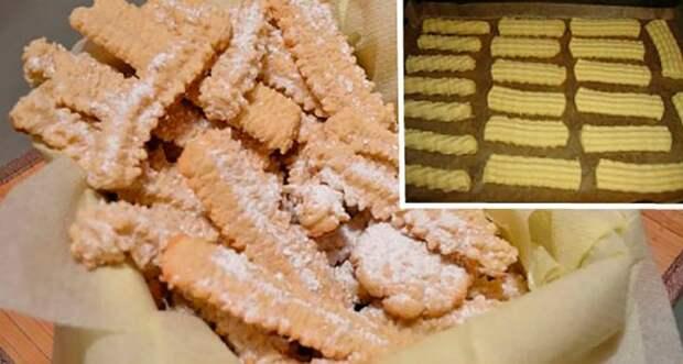 Рецепт вкусного печенья из нашего детства