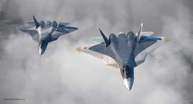 Российский истребитель Су-57 получит двухместную версию для продажи за границу