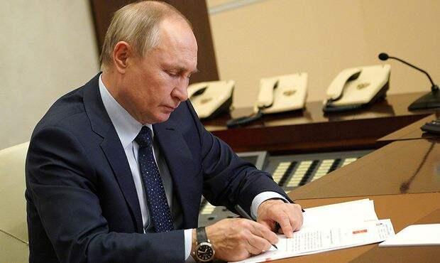 Путин подписал новый закон о вакцинации