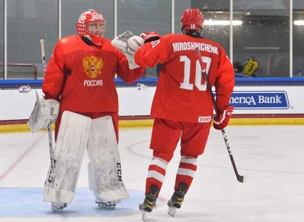 Мичков выбил десятку, а Россия - дорогу в полуфинал ЮЧМ-2021