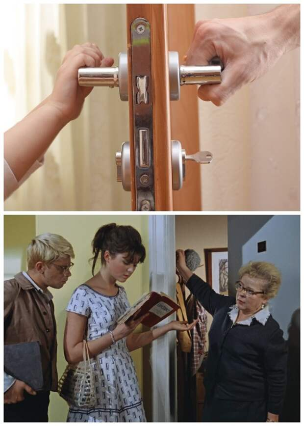 По противопожарным нормам входная дверь должна открываться внутрь в квартиры.