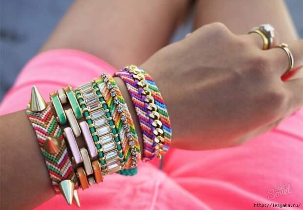 3 способа сделать красивый браслетик своими руками