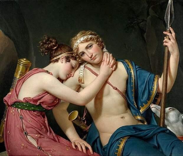 Художник Jacques-Louis David (1748 – 1825). Беспокойное сердце Франции