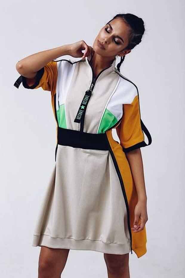 Одежда из комбинированных материалов