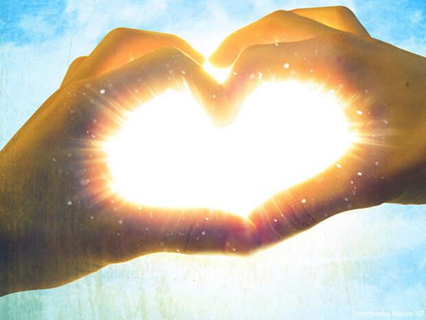 солнце сердце 028086 Love сердце