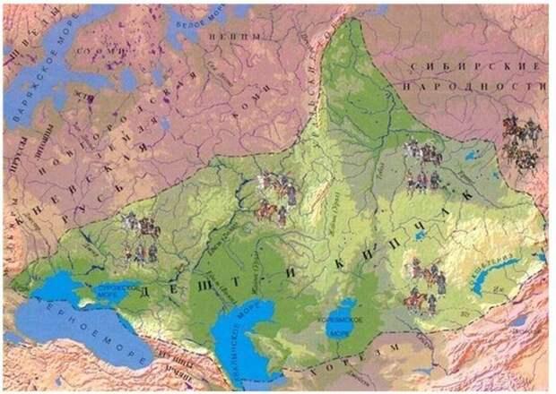 Империя Чингисхана и Хорезм. Нашествие