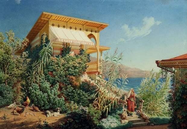 Художник Luigi Premazzi (1814 – 1891). Мастер русской акварельной живописи