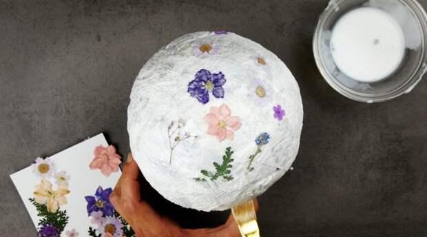 От освещения до украшений: 5 необычных и очень классных лайфхаков с живыми цветами