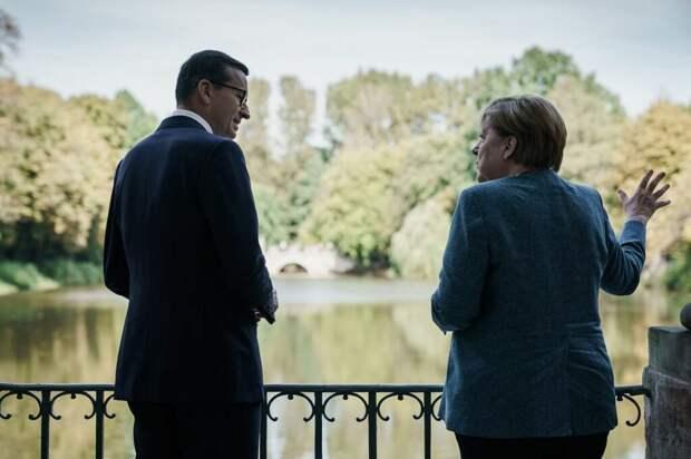 Меркель пообещала Польше сохранить транзит газа через Украину