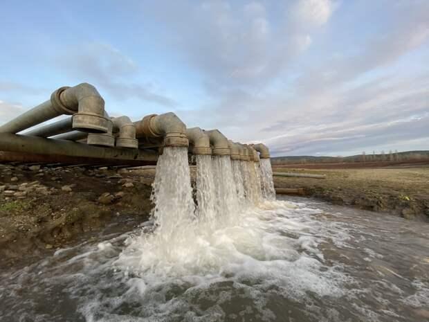 Минобороны: Из Тайганского в Симферопольское водохранилище перекачали 6 миллионов тонн воды