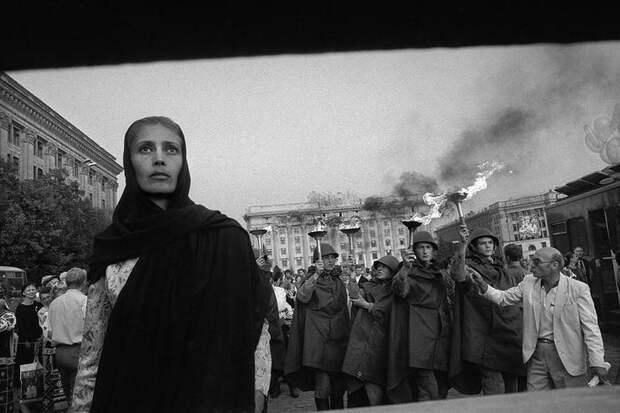 Украина 1992–93 в фотографиях Йозефа Куделки
