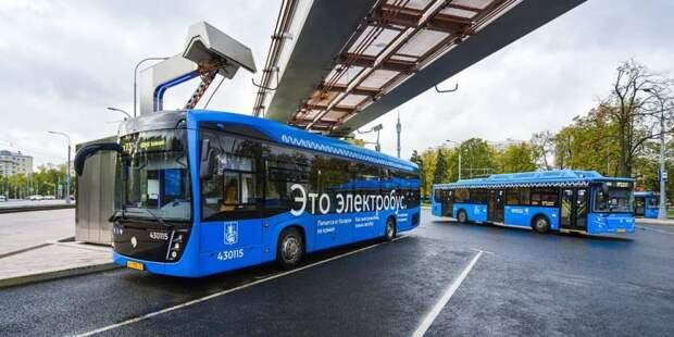 Собянин принял решение о снижении стоимости проезда в общественном транспорте Новой Москвы Фото: Е. Самарин mos.ru