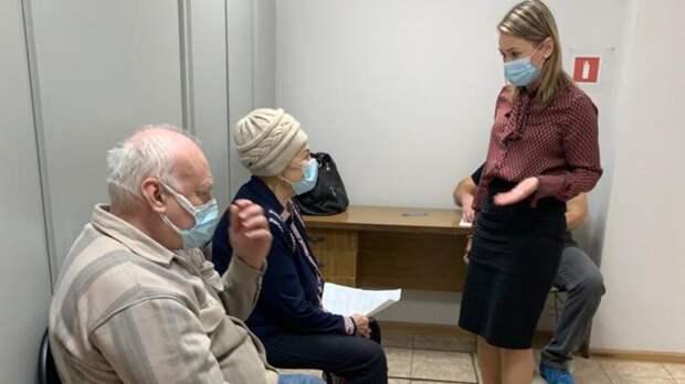 Вцентре соцобслуживания Первомайского района Ростова открыли пункт вакцинации