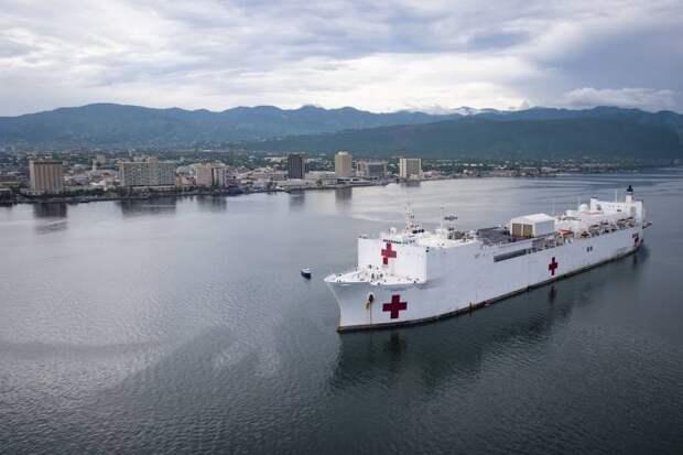 ВМС США против вируса. Госпитальные суда типа Mercy идут на помощь