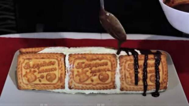 Торт из печенья — рецепт без выпечки простой и вкусный
