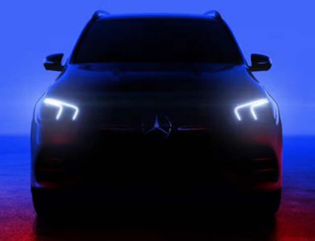 Дизайн нового кроссовера Mercedes GLE показали в видеоролике
