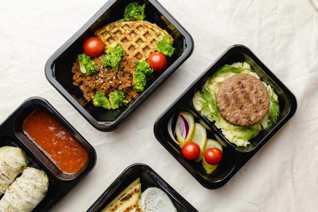 На рынке доставки готовой еды впервые появились блюда из растительного мяса