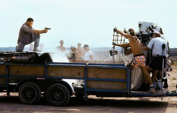 Универсальный солдат - за кадром Универсальный солдат, кино, голливуд, фото