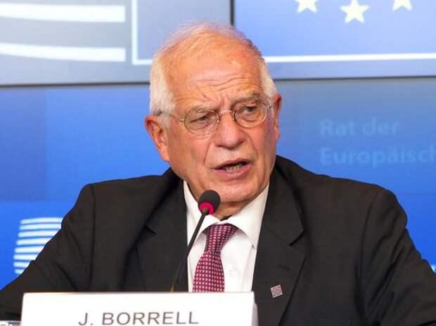 Боррель заявил о росте напряженности в отношениях между Россией и ЕС