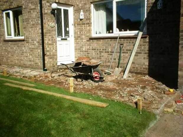 Как сделать садовую дорожку на даче - садовые дорожки своими руками (3)