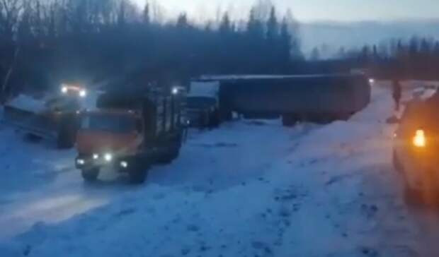 ВКировской области спасли дальнобойщика ифуру изОрска