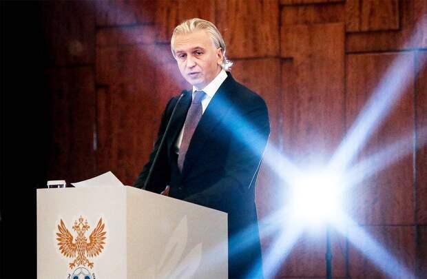Дюков единогласно избран президентом Российского футбольного союза