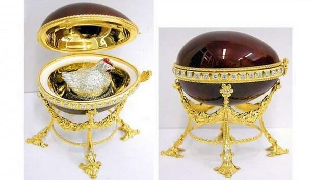 Пасхальное яйцо с сюрпризом от «Дома Фаберже»./ Фото: eaculture.ru