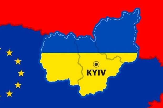 Горькое прозрение: Украину развалят на части, останется всего три области