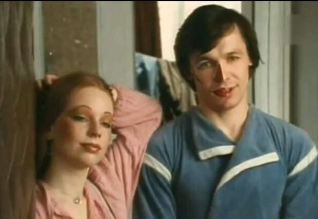 Василий Мищенко и Марьяна Полтева в фильме «Хочу тебе сказать...», 1985 год