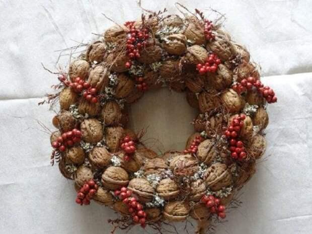 поделки из скорлупы грецких орехов