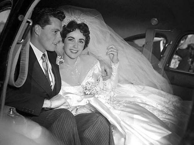 Первая свадьба Элизабет Тейлор (18 фотографий), photo:1