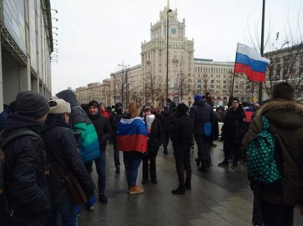 Полиция призвала москвичей воздержаться от участия в несогласованной акции