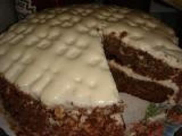 Торт ягодный с вареньем