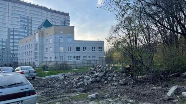 Жители Александровки против решения не благоустраивать проспект40-летия Победы