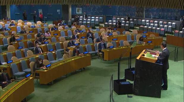 Зеленский перед пустым залом ООН: В Крыму вместо флоры и фауны – моряки и солдаты