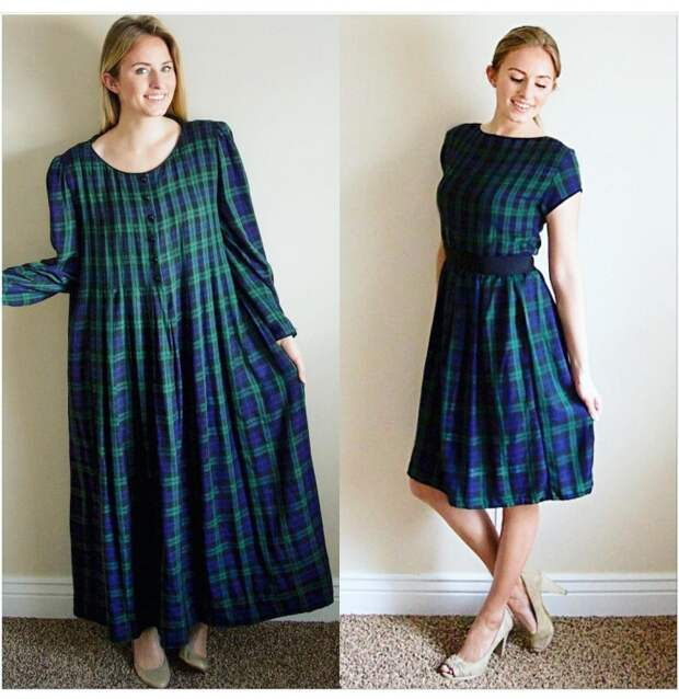 Переделки платьев