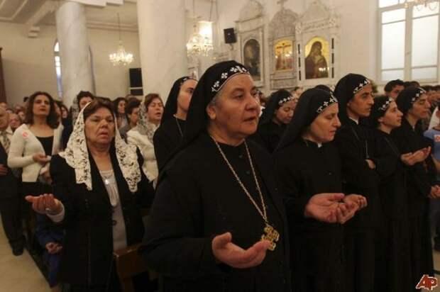 Арабы - христиане..