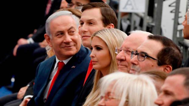 А что Израиль? Израиль не при делах, типа