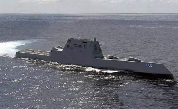 Эффективность ПВО перспективного эсминца. Альтернативный радиолокационный комплекс
