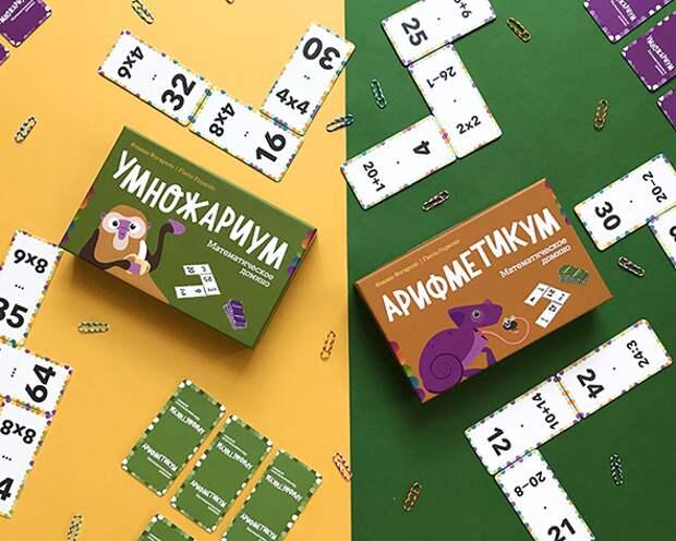 Настольные математические игры для детей и всей семьи