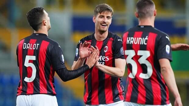 «Милан» вторым среди итальянских клубов вышел изСуперлиги